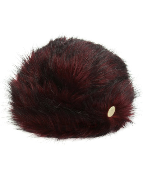 7a2ece711431c Picture 14 uk Womens Accessories Hats KARAH-Faux-fur-hat -Mid-Red XA4W KARAH 46-MID-RED 1.